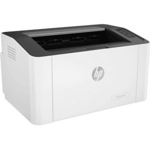 HP Laser 107a (4ZB77A) A4 Black and White Laser Printer - 600x600dpi 20 แผ่น/นาที