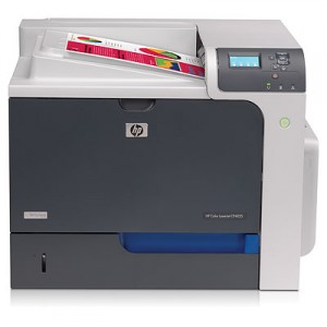 HP CP4025n Network Color LaserJet Printer - 1200x1200dpi 35 แผ่น/นาที