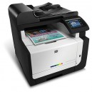 HP CM1415fn LaserJet Pro Color Multifunction  Printer - 600x600dpi 8 แผ่น/นาที