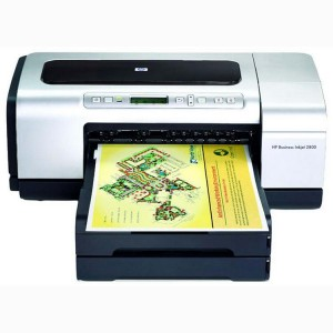 HP Business Inkjet 2800 A3 Printer - 4800x1200dpi 21 แผ่น/นาที