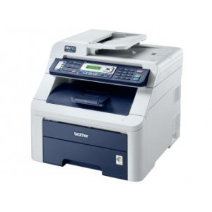 Brother MFC-9120CN Network Color Laser Multifunction Printer - 2400x600dpi 16ppm