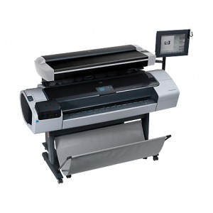 HP Designjet T1200 HD Large Format Multifunction Printer (CQ653A) Print-Copy-Scan 44 นิ้ว