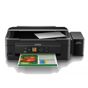 Epson L455 Ink Tank System All-In-One Printer Print / Copy / Scan - 5760 x 1440 dpi