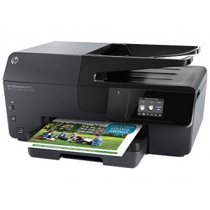 HP Officejet Pro 6830 (E3E02A) e-All-in-One Printer - 4800x1200dpi 24 แผ่น/นาที