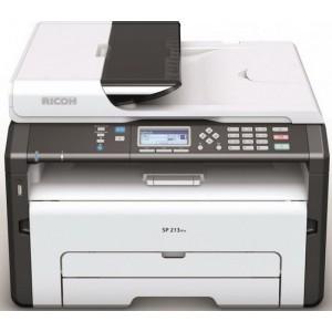 Ricoh Aficio SP 213SFNw Wireless Black and White Multifunction Laser Printer - 600x600dpi 22 แผ่น/นาที