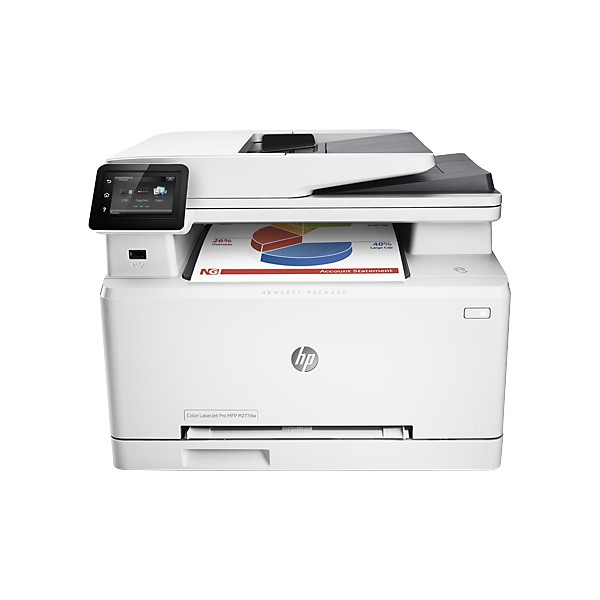hp mfp m277dw b3q11a wireless color laserjet pro multifunction printer with duplex print. Black Bedroom Furniture Sets. Home Design Ideas