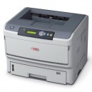 OKI B820n A3 Monochrome LED Printer - 2400x600dpi 35ppm
