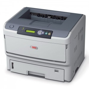 OKI B820n A3 Monochrome LED Printer - 2400x600dpi 35 แผ่น/นาที