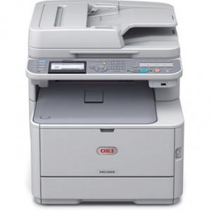 OKI MC362dn Duplex Network Color Laser Multifunction Printer - 1200x600dpi 22 แผ่น/นาที