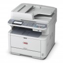 OKI MB491dn Duplex Network Mono Laser Multifunction Printer - 1200x1200dpi 40 แผ่น/นาที