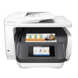 HP OfficeJet Pro 8730 All-in-One Printer (D9L20A) - 2400x1200dpi 36 แผ่น/นาที