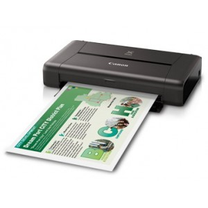 Canon PIXMA iP110 with Battery Wireless Office Mobile Printer