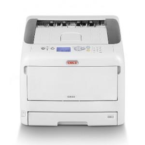 OKI C833n (A3-Size) Network Color Laser Printer - 1200x600dpi 35 แผ่น/นาที