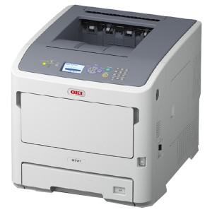 OKI B721dn A4 Monochrome Printer - 1200x1200dpi 47 แผ่น/นาที