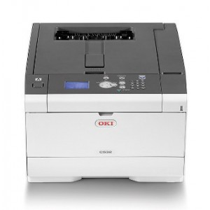 OKI C532dn Duplex Network Color Laser Printer - 1200x1200dpi 30 แผ่น/นาที