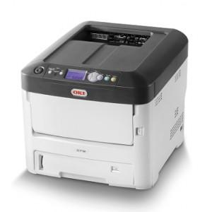 OKI C712n Network Color Laser Printer - 1200x600dpi 34 แผ่น/นาที