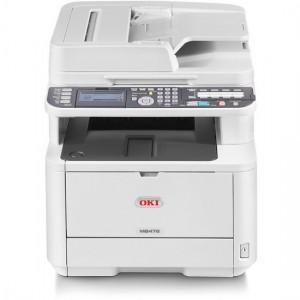 OKI MB472dnw Duplex Wireless Mono Laser Multifunction Printer - 1200x1200dpi 33 แผ่น/นาที
