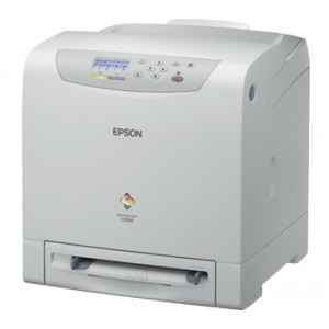 Epson AcuLaser C2900N Network Color Laser Printer - 600x600dpi 23 แผ่น/นาที
