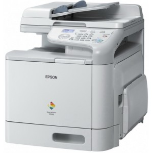 Epson AcuLaser CX37DN All-in-One Colour Laser Printer - Print / Copy / Scan