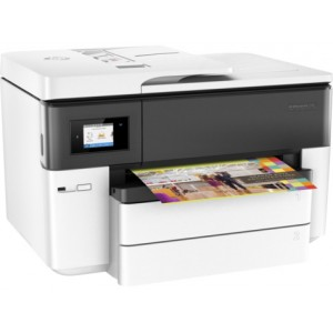 HP OfficeJet Pro 7740 Wide Format All-in-One Printer (G5J38A) - 4800x1200dpi 34 แผ่น/นาที