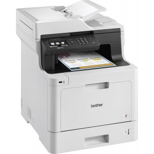 Brother MFC-L8690CDW Color Laser Multi-Function Printer with Wireless - 2400x600dpi 31 แผ่น/นาที