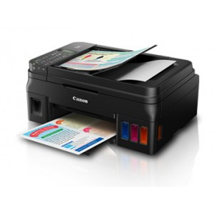 Canon PIXMA G4000 Refillable Ink Tank All-In-One InkJet Printer - 4800x1200dpi 5ipm