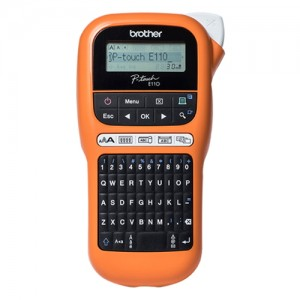 Brother PT-E110VP Handheld Label Printer