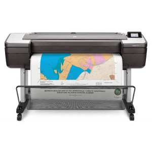 "HP DesignJet T1700dr 44"" Printer (W6B56A) Dual-roll Large Format Printer"