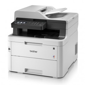 Brother MFC-L3750CDW Wireless Color LED Multi-Function Printer - 24ppm