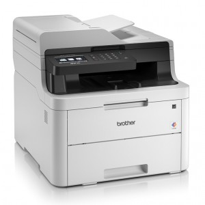 Brother MFC-L3735CDN Network Color LED Multi-Function Printer 24 แผ่น/นาที