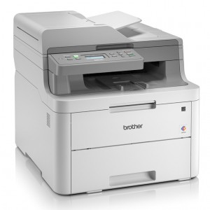 Brother DCP-L3551CDW Wireless Color LED 3-in-One Multi-Function Printer