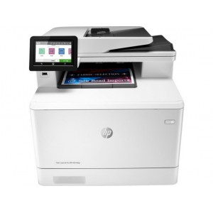 HP Color LaserJet Pro MFP M479fdw (W1A80A) Wireless Multifunction Printer - 1200x1200dpi 27ppm