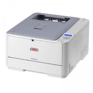 OKI C310dn Duplex Network Color Laser Printer - 1200x600dpi 22 แผ่น/นาที