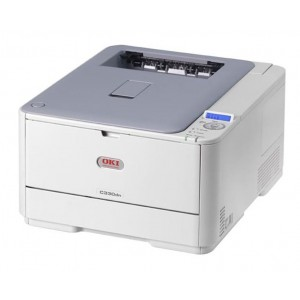 OKI C330dn Duplex Network Color Laser Printer - 1200x600dpi 22 แผ่น/นาที